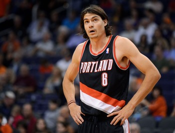 Adam Morrison sporting the clean cut look.