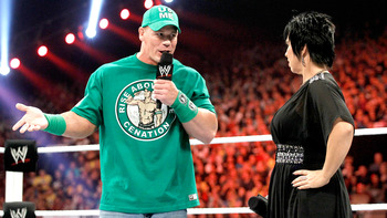 Cena has denied an affair with AJ for the last few weeks. Photo Courtesy of WWE.com