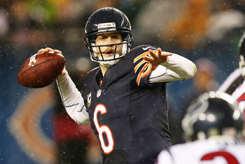 Cutler was knocked from Sunday's game against Houston with a concussion.