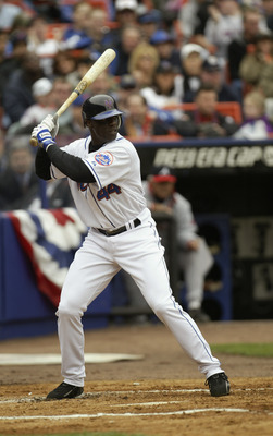Mike Cameron led the Mets with 30 home runs in 2004.