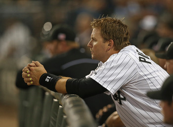 Pierzynski set new career highs last season with 27 HR and a .827 OPS.