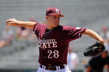 Chris Stratton played most of this year at Mississippi State