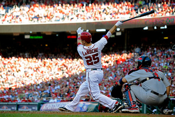 Adam LaRoche hit just .176 in the NLDS against the Cardinals.