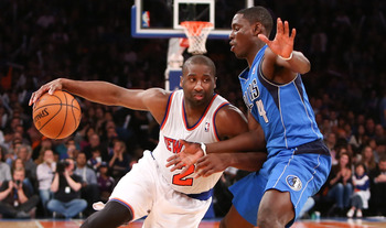 The Knicks faced their first significant deficits of the season against Dallas.