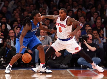 J.R. Smith, along with every Knick, has stepped his defense up this season.