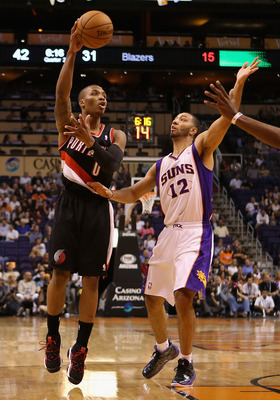 Lillard can score from anywhere on the floor and can finish at the rim with both hands.