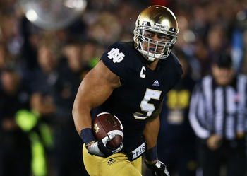 Manti Te'o: Linebacker from Notre Dame