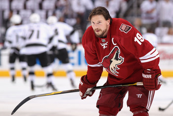 Coyotes captain Shane Doan.