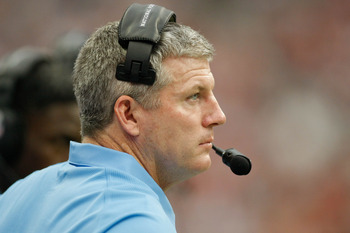 Mike Munchak is just in his second year in Tennessee.