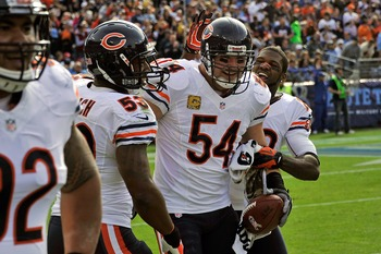 "Urlacher is one of the longest running ""faces of the game"""