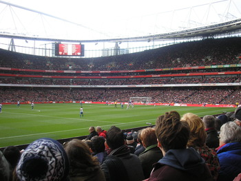 The Emirates pitch is beautiful