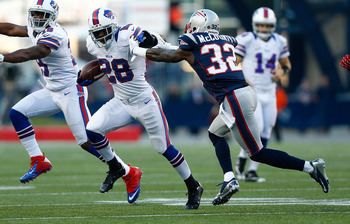 Spiller exposed the Pats' bad tackling form.