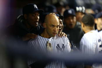 Ibanez's late-inning heroics helped the Yankees advance to the 2012 ALCS.