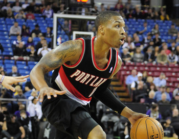 Damian Lillard is in line for top rookie honors.
