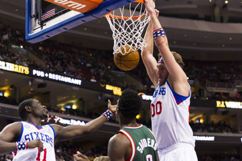 Can Spencer Hawes play big inside?