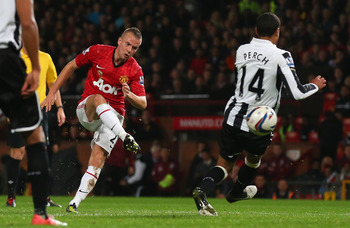 Cleverley Scores in the Capital One Cup