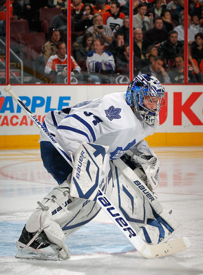Goaltending has been an issue for the Leafs for several years.