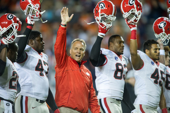 Georgia can wave goodbye to their slim title hopes.