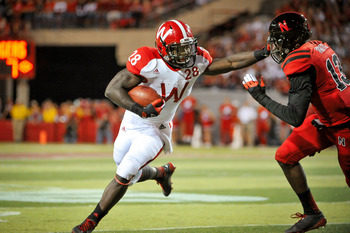 Montee Ball will be the NCAA's rushing touchdown leader after this weekend's game.