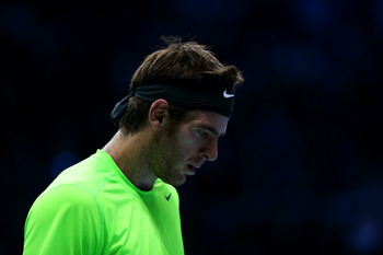 Juan Martin Del Potro was on the comeback trail in 2012.