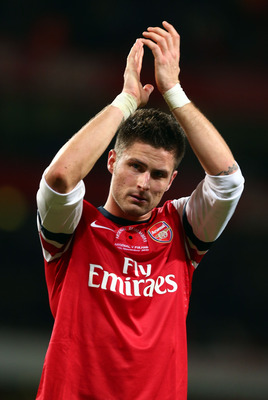 Giroud has scored 3 goals in his last 2 outings