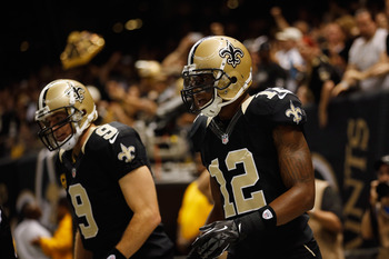 Brees and Colston are just two of the many Saints weapons on offense