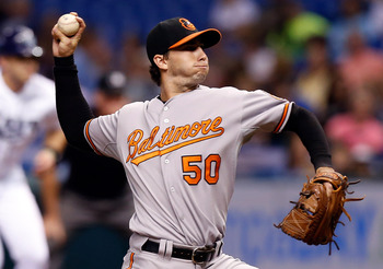 Miguel Gonzalez was another pleasant surprise for the O's.