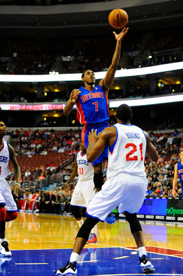 PG Brandon Knight was the complete package against the Sixers.