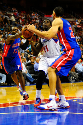 The Pistons played solid defense—surprise!—against the Sixers. Expect to see more of that now that coach Frank can practice with the team again.