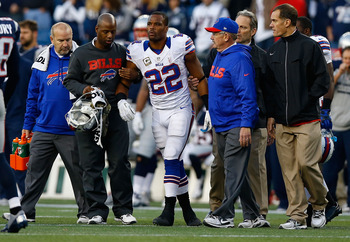 Fred Jackson was ruled out due to his concussion