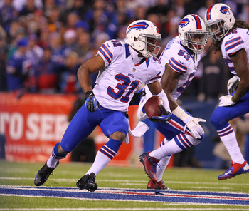 Jairus Byrd comes up with interception and fumble recovery.