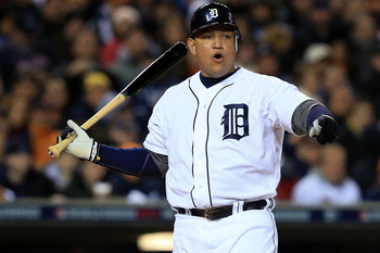 Cabrera broke away from his competition in September.