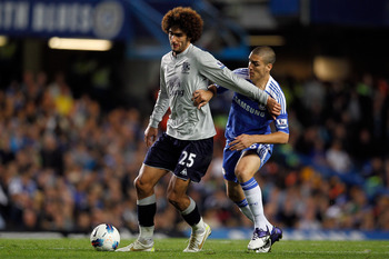 Fellaini could very well be playing alongside the Blues come January