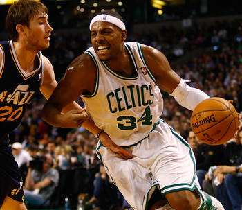Paul Pierce has struggled from the floor, but is still the Celtics' leading scorer.