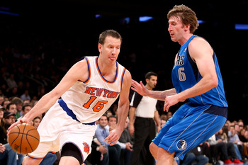 Steve Novak isn't off to as hot a start as the Knicks would like.