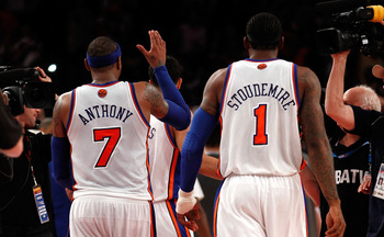 The popular debate: Can Melo and STAT play together?