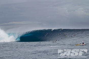 Cloudbreak will once again be home to the Volcom Fiji Pro. Photo: ASP/Kirstin
