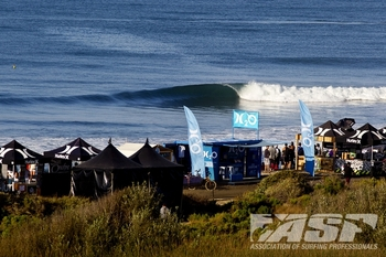 There is no more iconic California lineup than that of Lower Trestles, the site of the Hurley Pro. Photo: ASP/Rowland