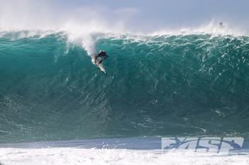 Pipeline will always cap off the ASP World Championship Tour each season. Shane Dorian. Photo: ASP/Kirstin