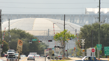 The drive to the Astrodome is still wonderfully scenic - Photography by Robert Bluestein