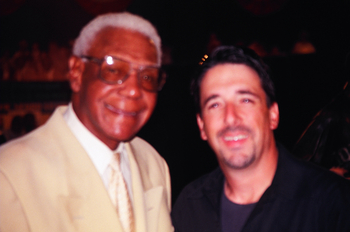 Buck O'Neil and Me at the Negro Baseball Hall of Fame in Kansas City