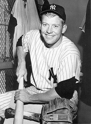 Mickey Mantle.  Bob Olen