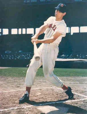 Ted Williams.  Chicago Sun-Times