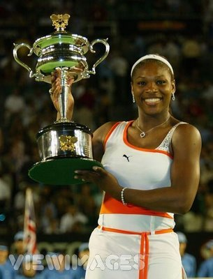 2003 Australian Open Champion Serena Williams
