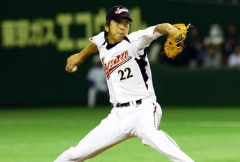Fujikawa was an elite, late-inning reliever in Nippon Professional Baseball.  Junko Kimura/Getty Images