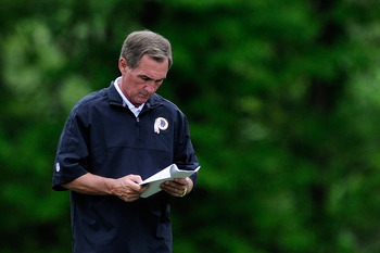 "Shanahan will search for more rookies who are ""NFL ready."""
