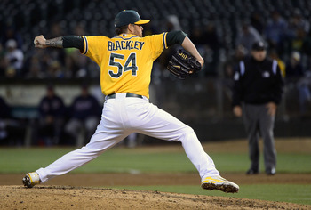 Travis Blackley started, relieved and even closed a few games.