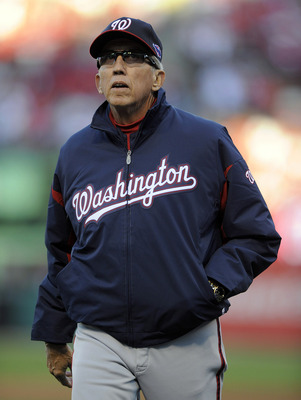 Washington Nationals manager Davey Johnson.