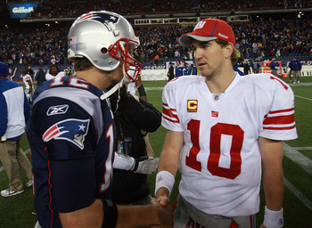 Tom Brady and Eli Manning are at the heart of this rivalry