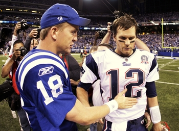 Brady versus Manning is about as good as it gets.